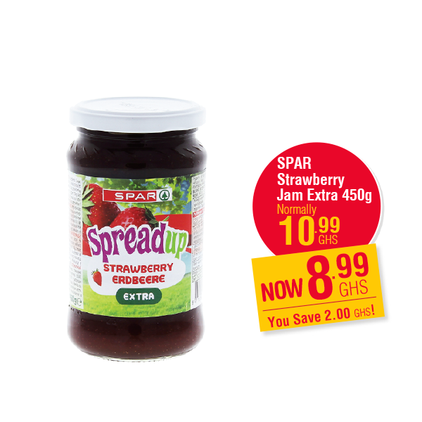 SPAR  Strawberry Jam Extra 450g