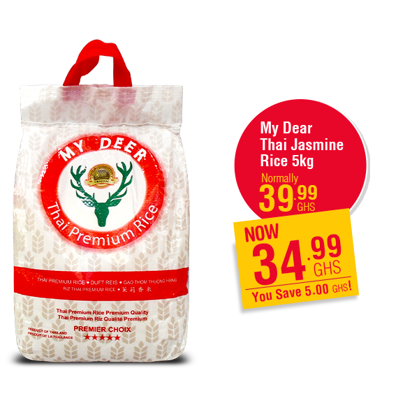 My Dear  Thai Jasmine  Rice 5kg