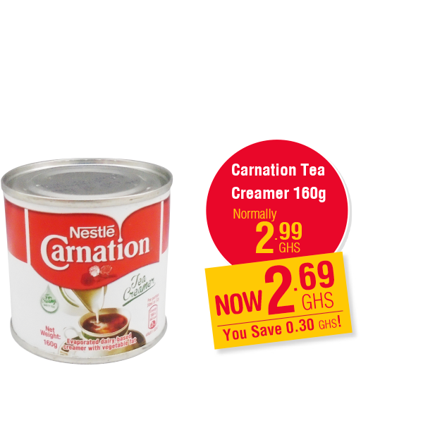 Carnation Tea Creamer 160g