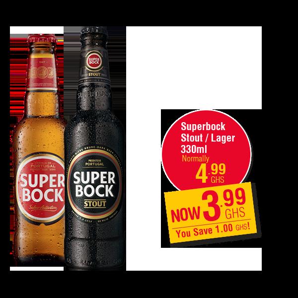 Superbock Stout / Lager 330ml