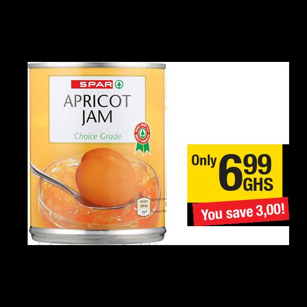 SPAR Jam Apricot Smooth 450g