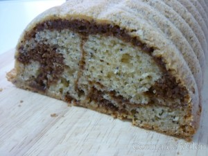 Bizcocho marmolado con semillas de amapola - Cocina de Valen