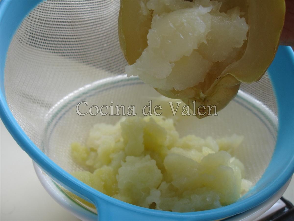 Chayotas Gratinadas - Cocina de Valenn