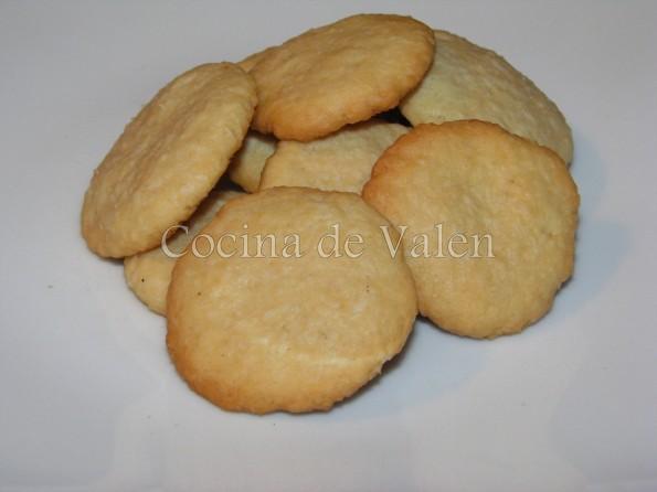 Galletas e coco - Cocina de Valen