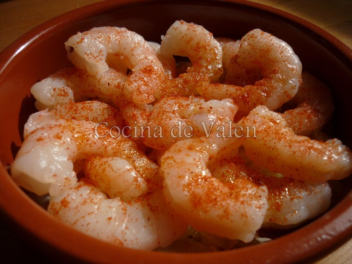 Gambas al Chili Picante - Cocina de Valen