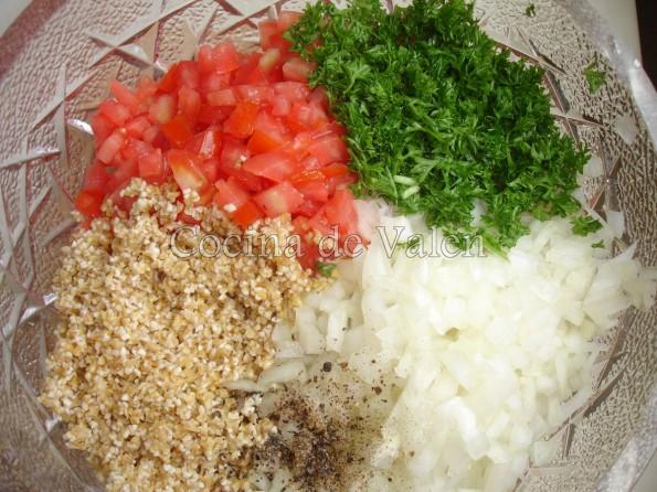 Ingredientes Tabule1  - Cocina de Valen