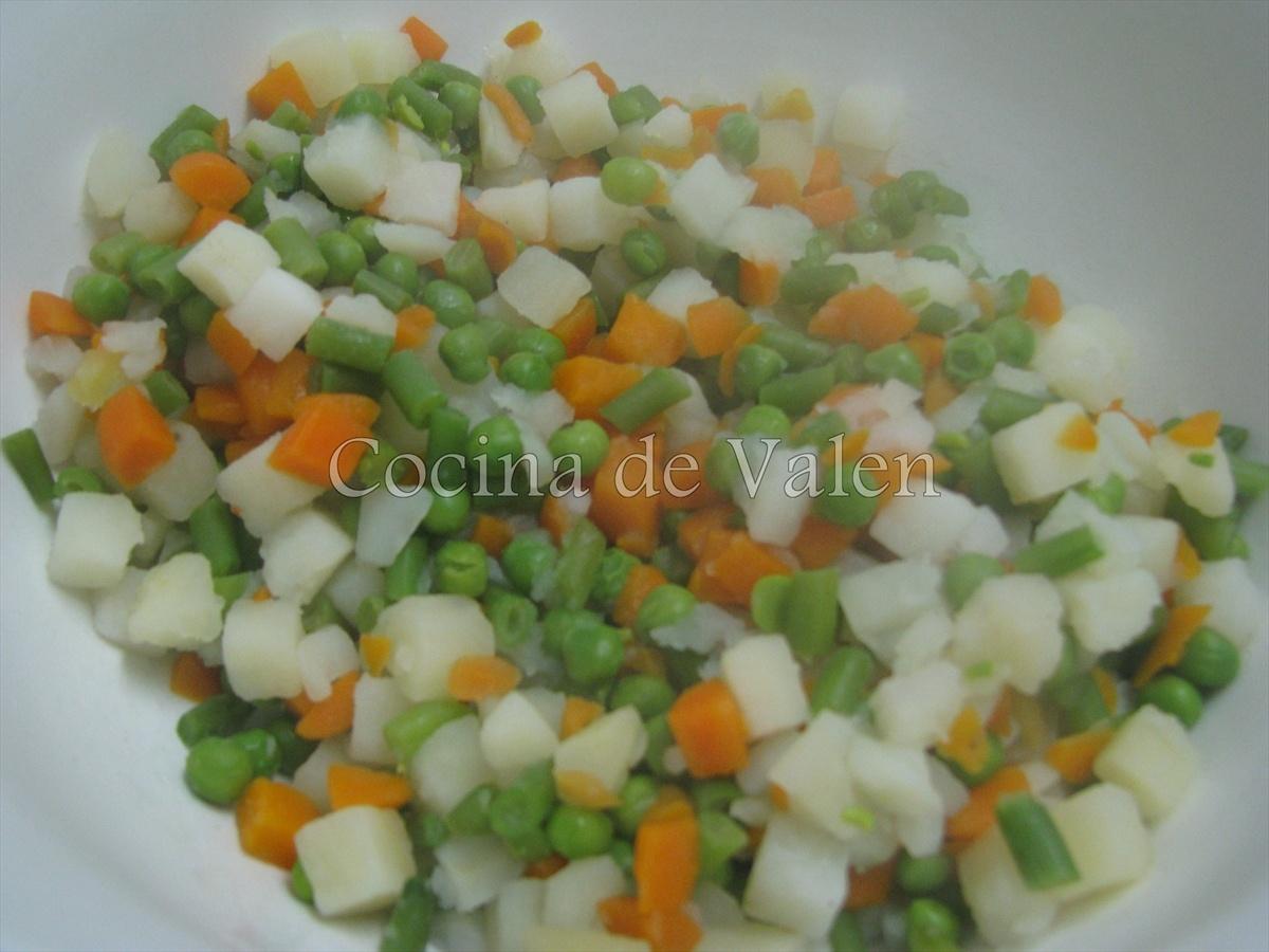 Ensalada de Gallina - Cocina de Valen