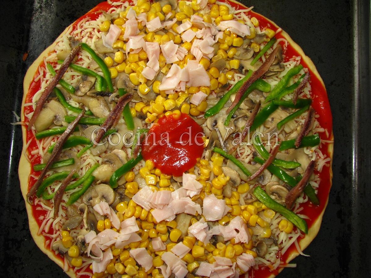 Pizza - Cocina de Valen