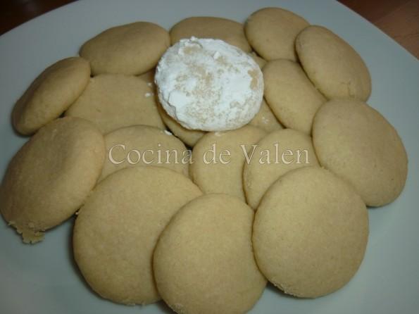 Polvorones de Coco - Cocina de Valen