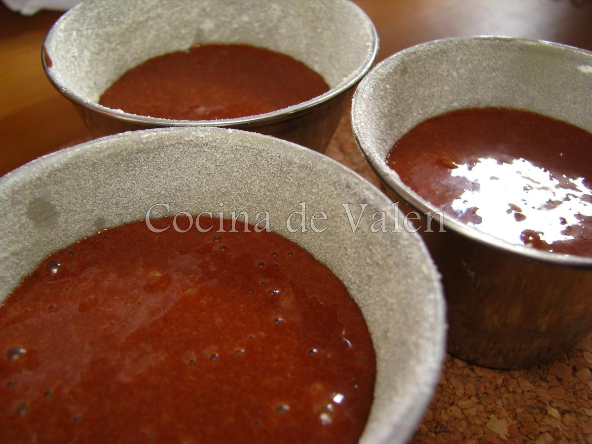 Coulant de Chocolate - Cocina de Valen