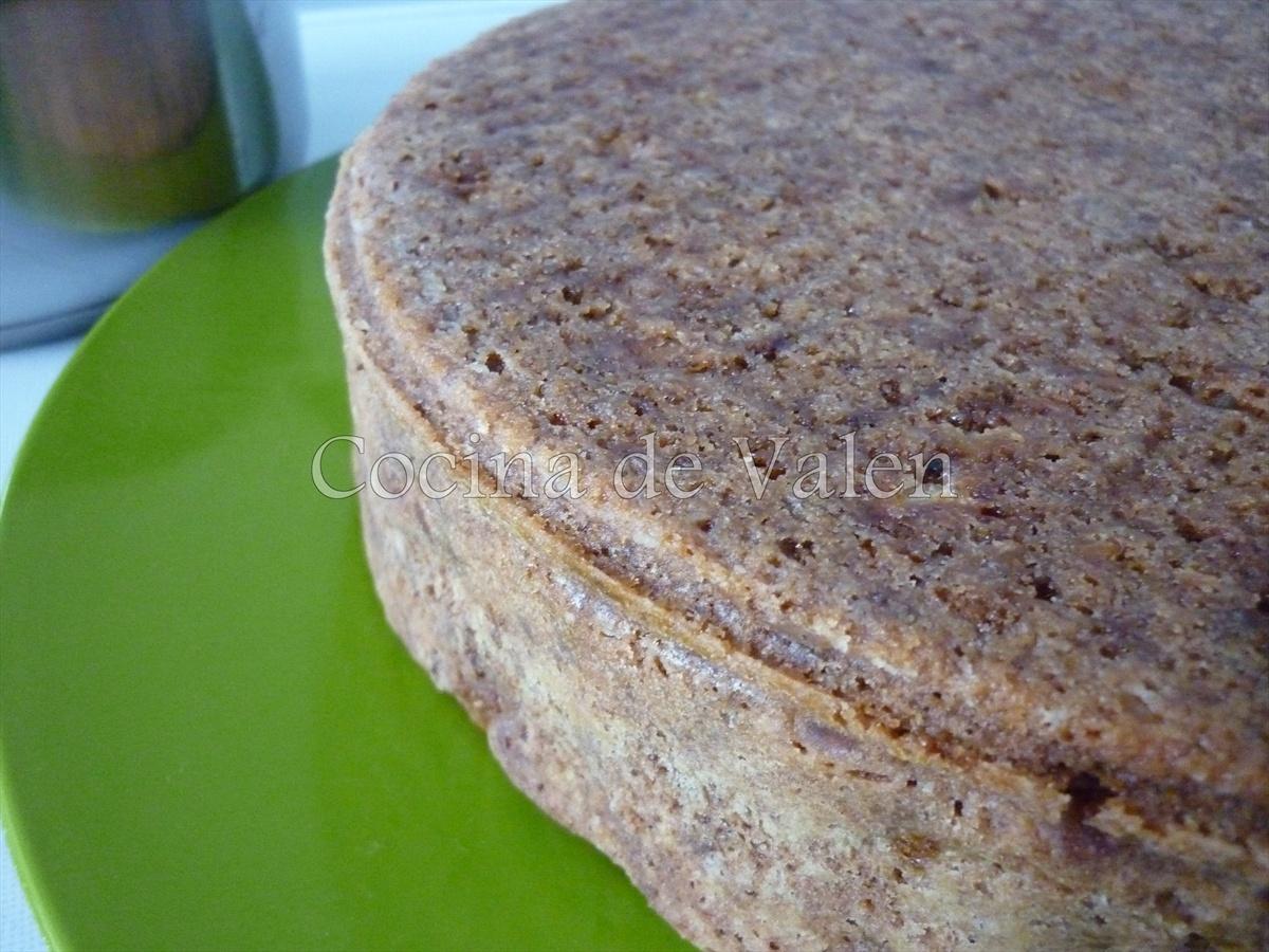 Torta de Manzana, nueces y caramelo - Marca de Agua