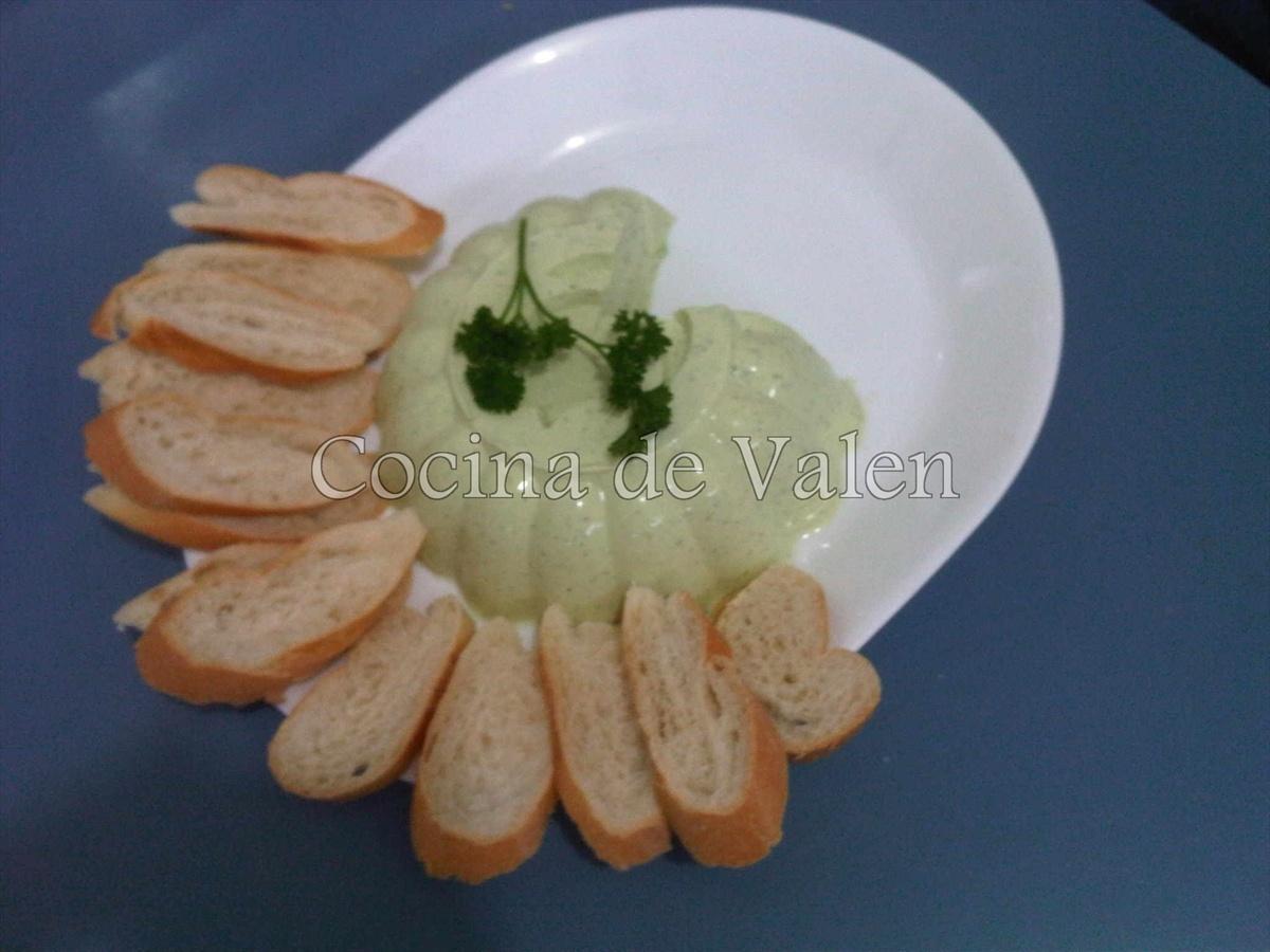 Mousse de Cebollín - Cocina de Valen