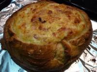 Pan de queso con bacon y ajoporro - Cocina de Valen