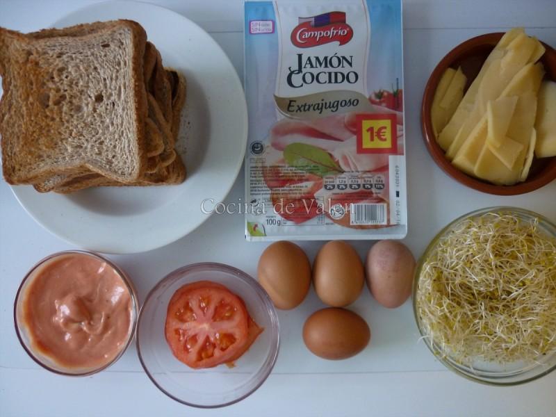 Ingredientes Club House Sandwich
