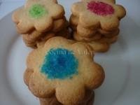 Galletas con Azúcar de Colores