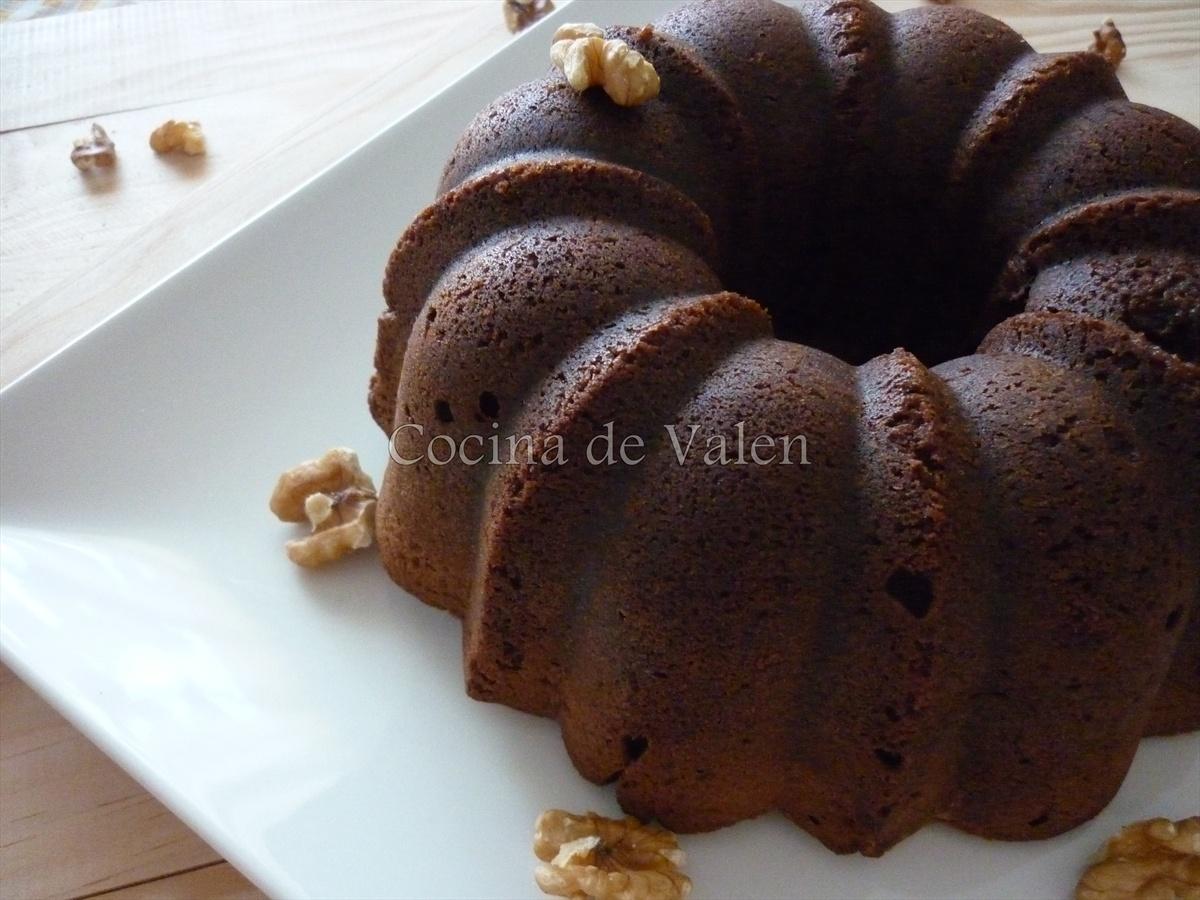 Bizcocho jugoso de Chocolate - Cocina de Valen