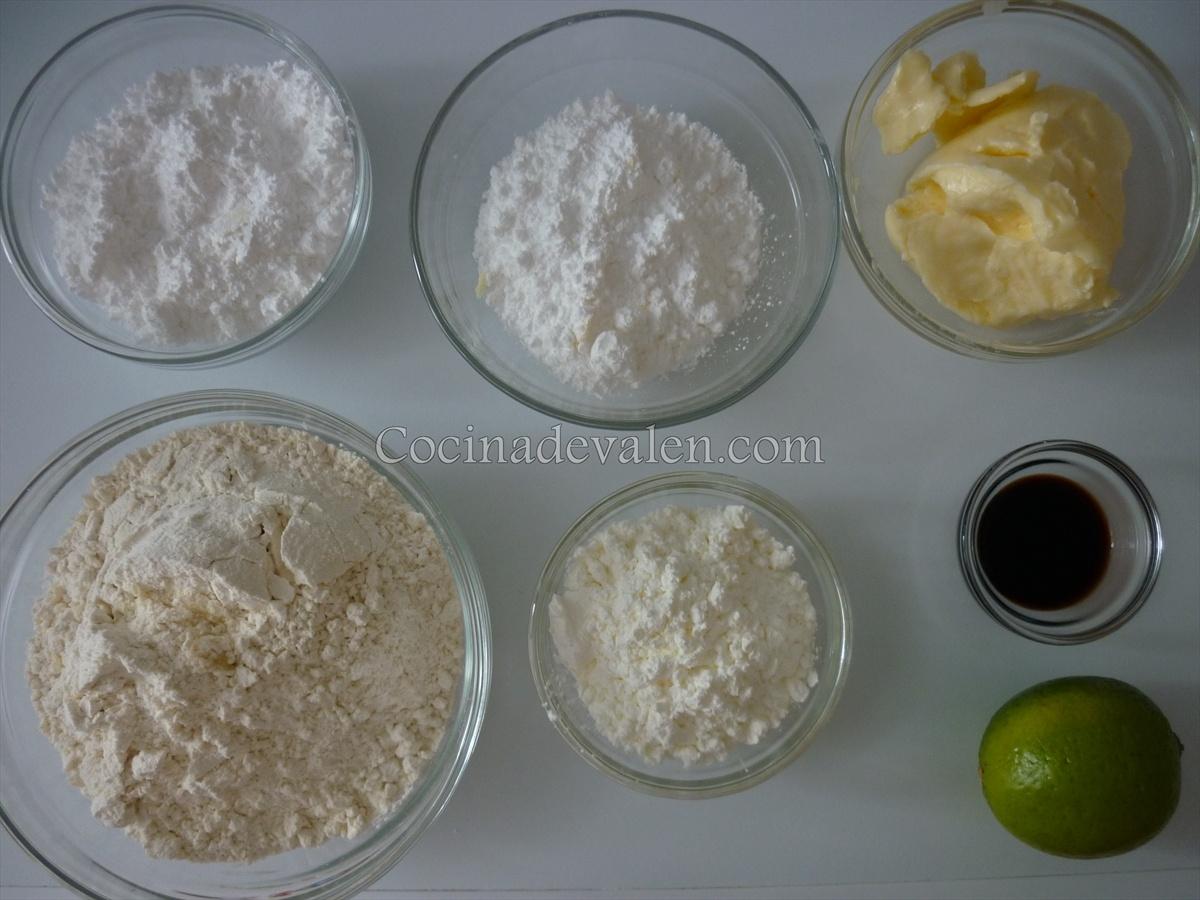 Galletas de limón - Cocina de Valen