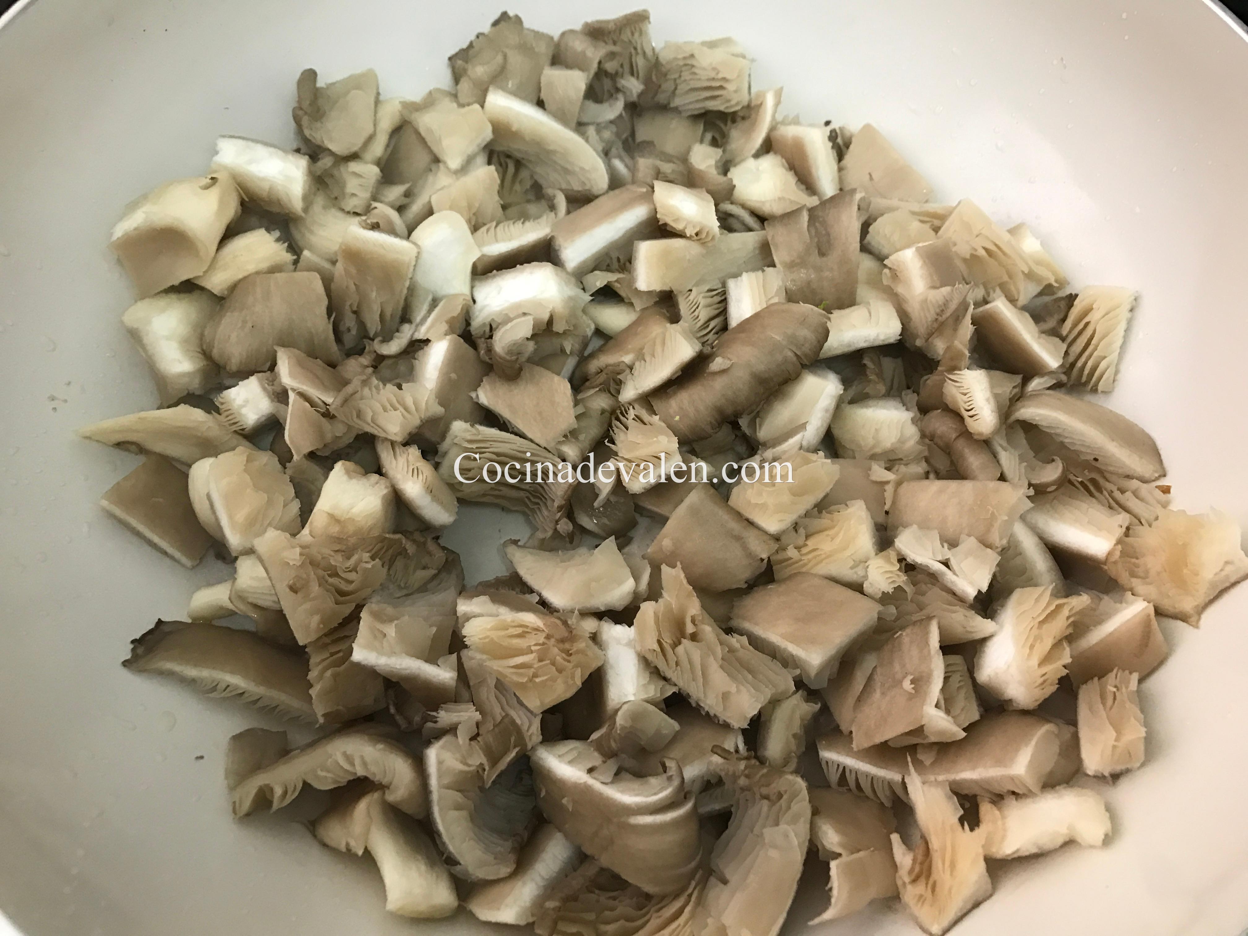 Tallarines salteados con Pak choi y pollo - Cocina de Valen