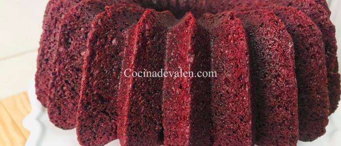 Red velvet con aceite