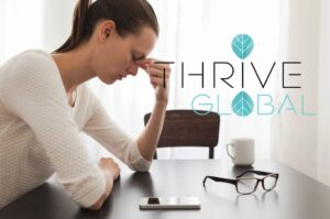 Thrive Global Article - Triggering