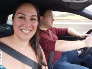 Ceza with her boyfriend