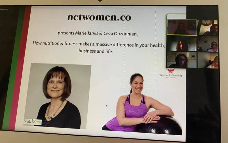 Netwomen talk Ceza with Marie