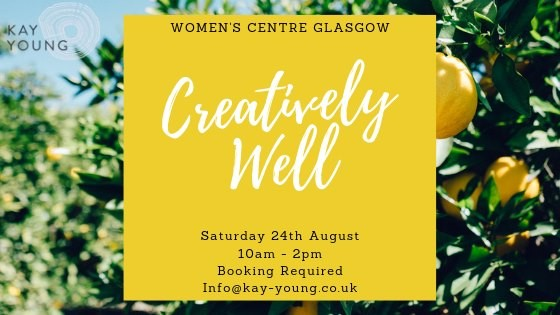 Creatively Well event