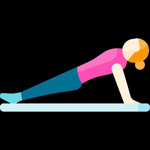 Pilates reverse Plank
