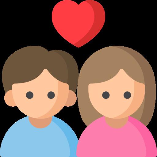 happy relationship icon