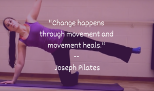 Pilates heals