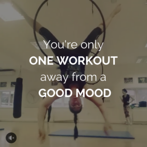 workout makes you feel good