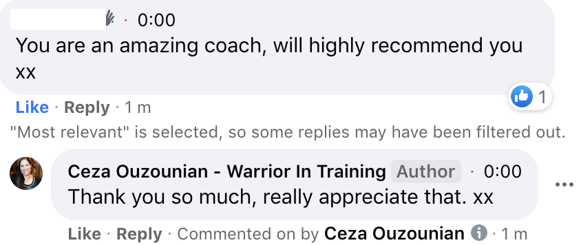 Comment from 5 Days Experience