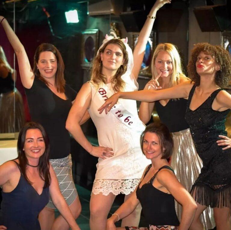 Burlesque hen party in Glasgow