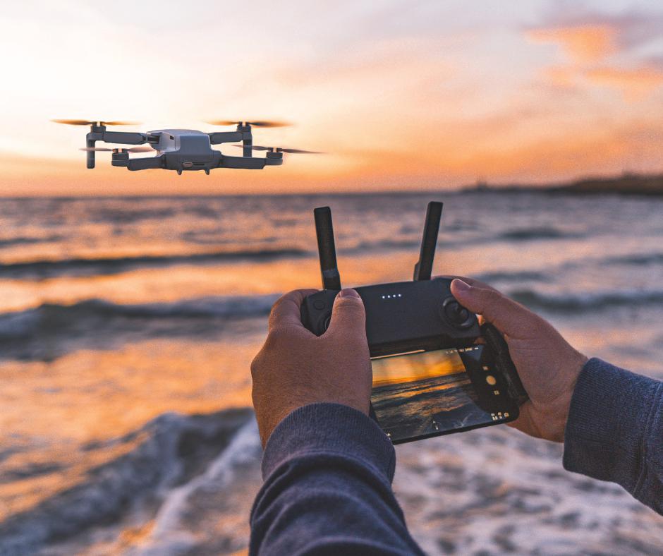 Vídeo y fotos con drone