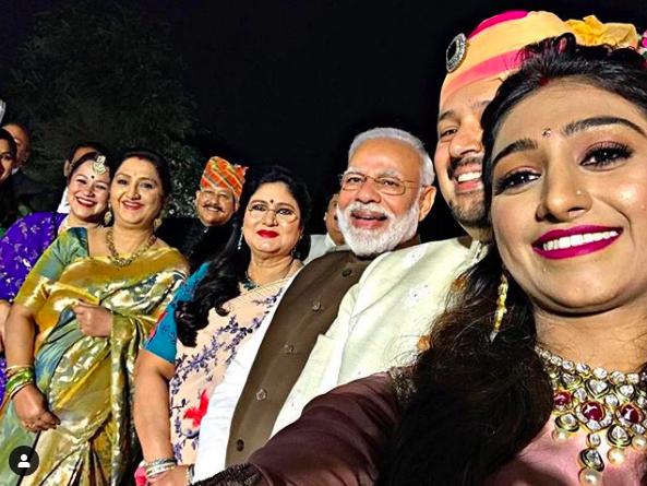 prime-minister-narendra-modi-at-mohena-kumari-singh-reception-party-delhi-entertainments-saga