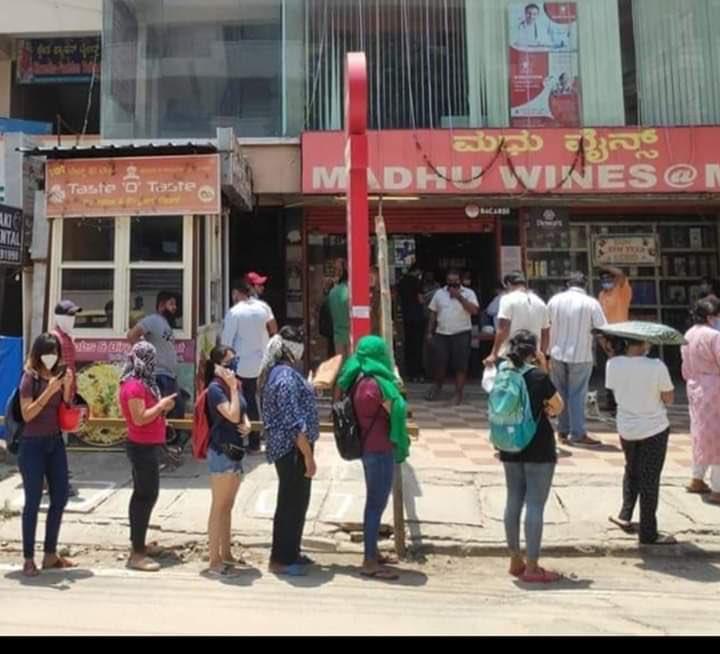 line-outside-liquor-store-entertainments-saga-latest-news-online