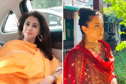 Urmila-Matondkar-Kangana-Ranaut-bollywood-hot-gossips-entertainments-saga-nepotism-Bollywood