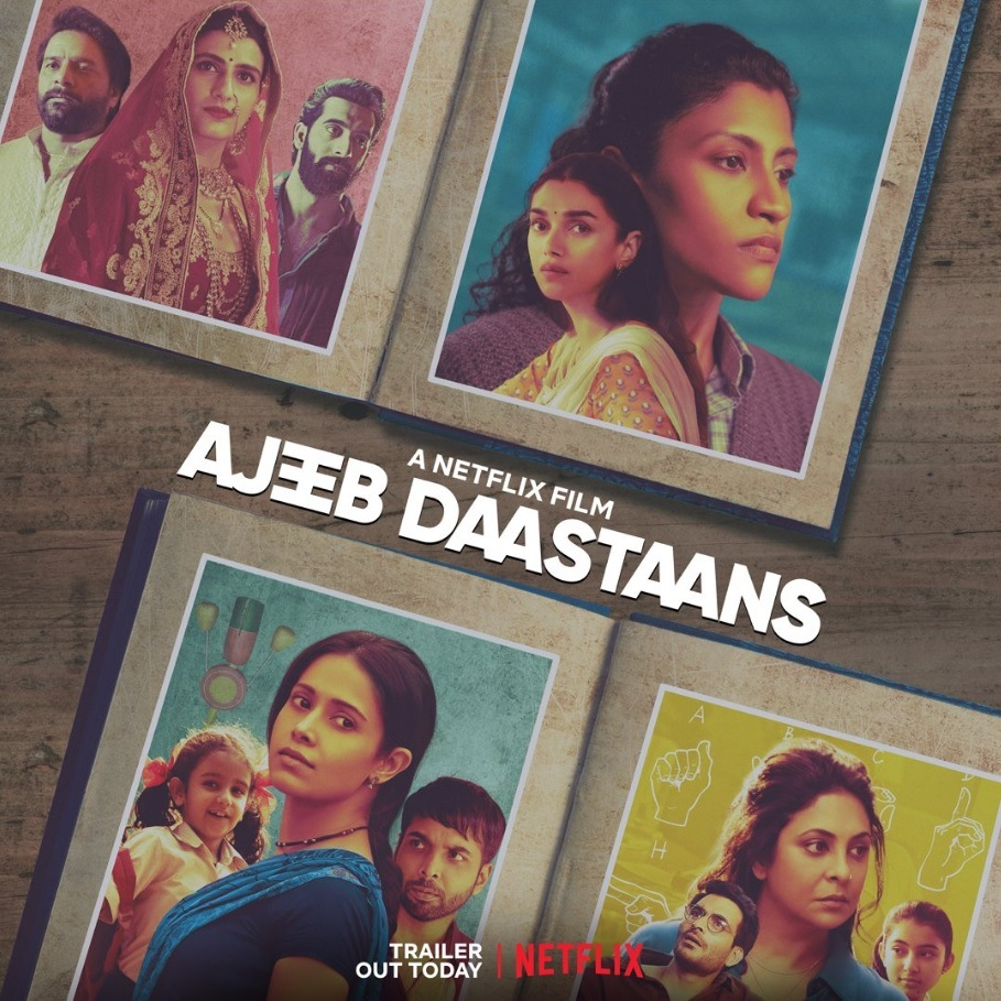 Ajeeb-Dastaans-poster-bollywood-movie-reviews-netflix-movies-watch