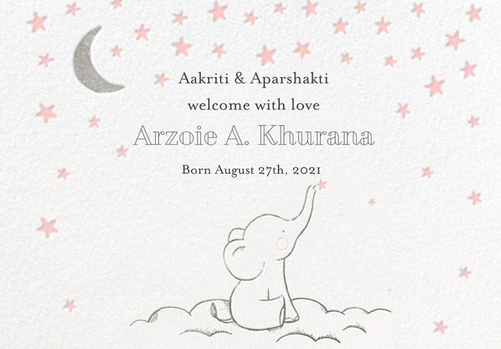 Aparshakti-Khurana-Aakriti-ahuja-baby-girl-instagram-bollywood-celebrity-news-online