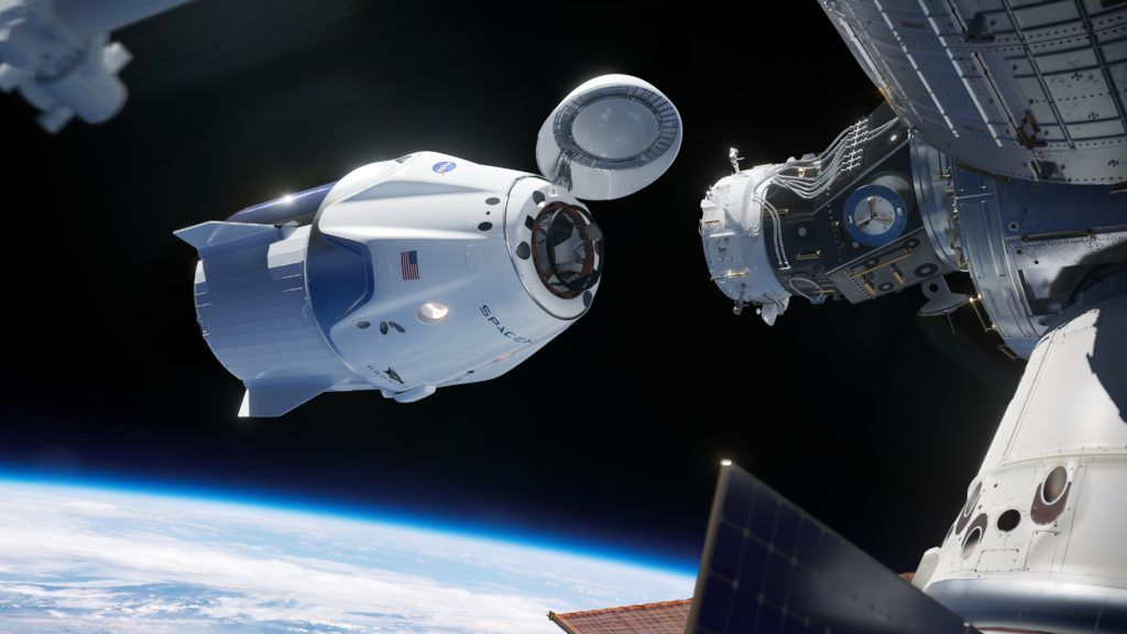 Crew Dragon DEMO-1 Returns To Earth After Successful Visit To Space Station