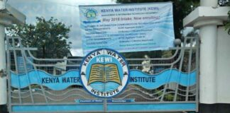 kenya water institute (KEWI) students portal login,registration