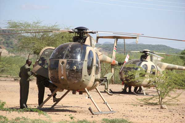 Kenya Air Force Ranks and salaries
