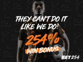 Bet254 Jackpot Prediction for this weekend