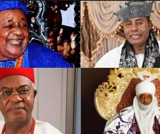Top 10 most richest kings in Nigeria