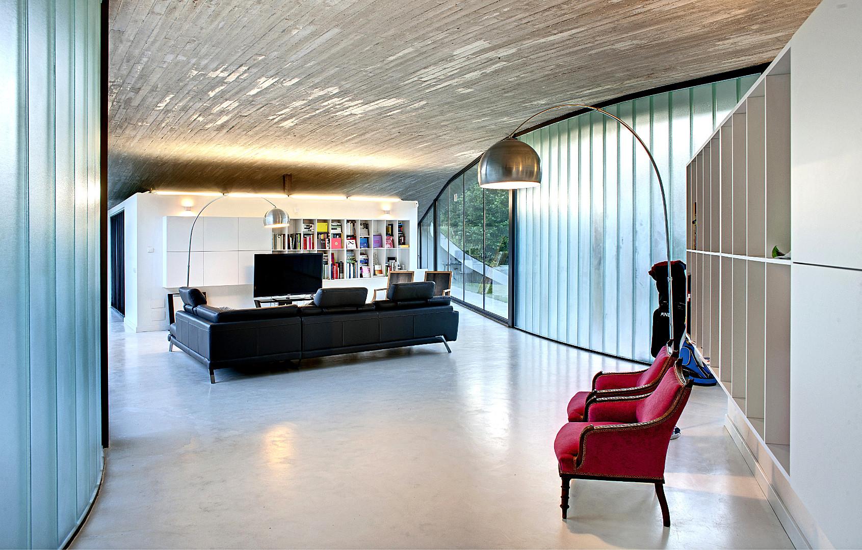 Casa Arquitecto salón - Inmobiliaria
