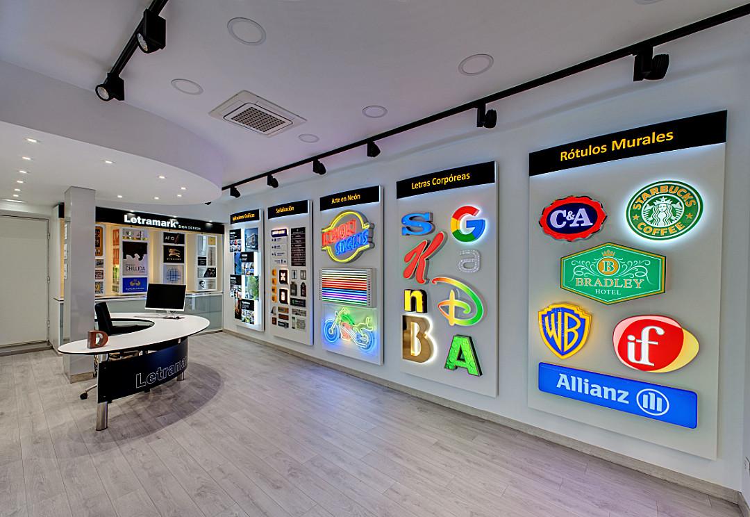 Rótulos Ales tienda - Comercial