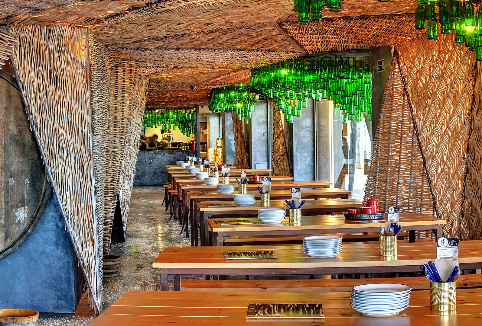 Sidrería Tierra Astur comedor - Hostelería