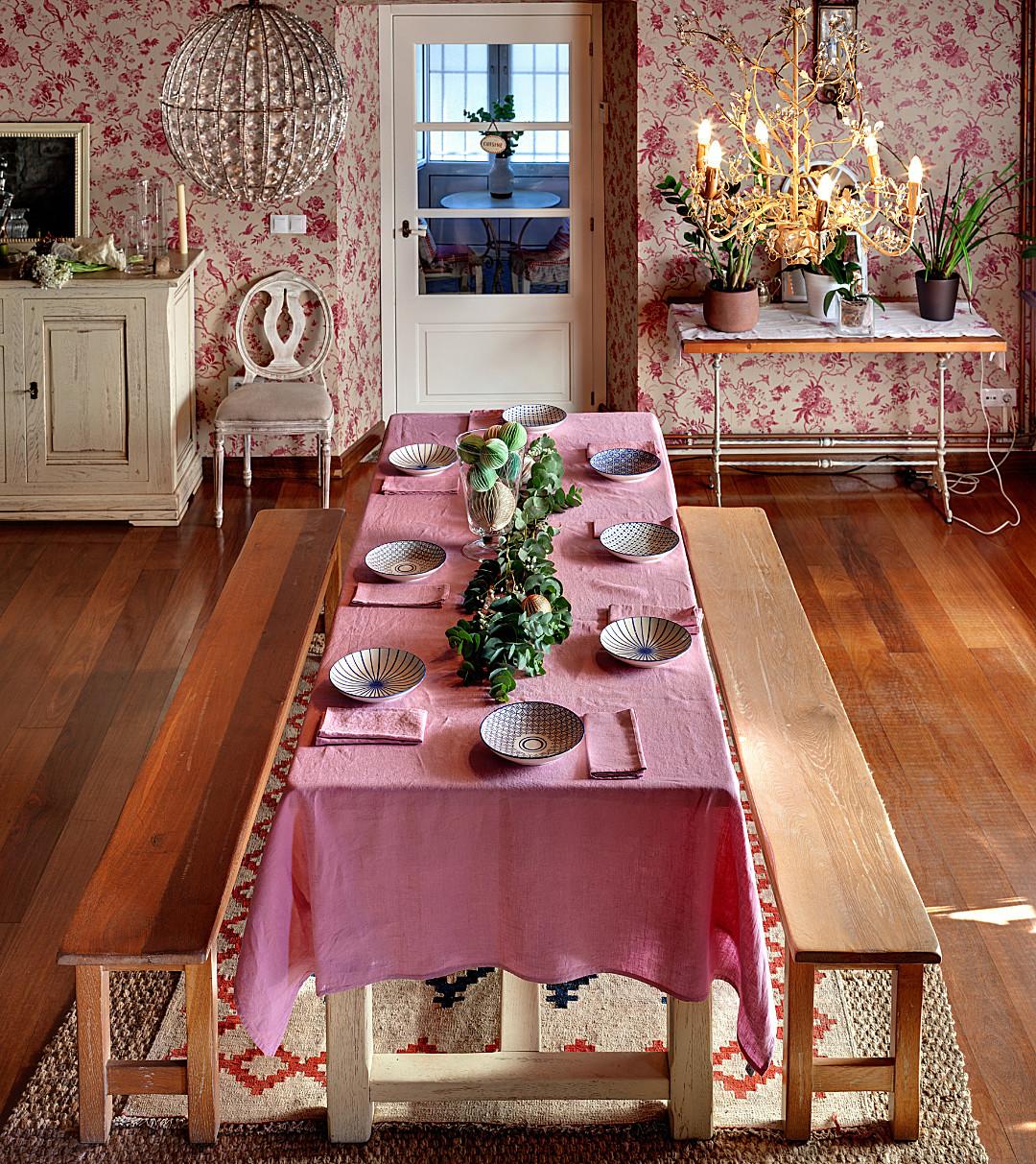 Mesa decoración - Casa Hogar