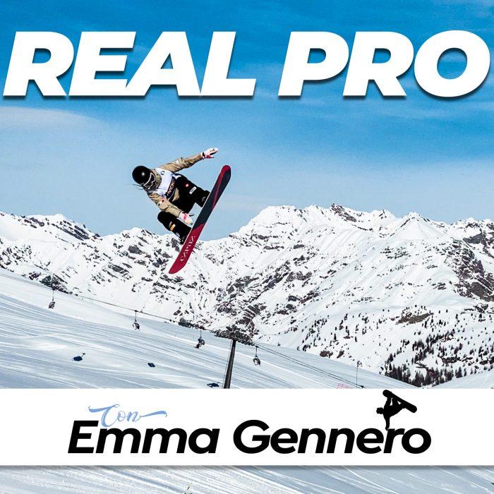 copertina real pro 10 emma gennero - come un pro il podcast sullo snowboard
