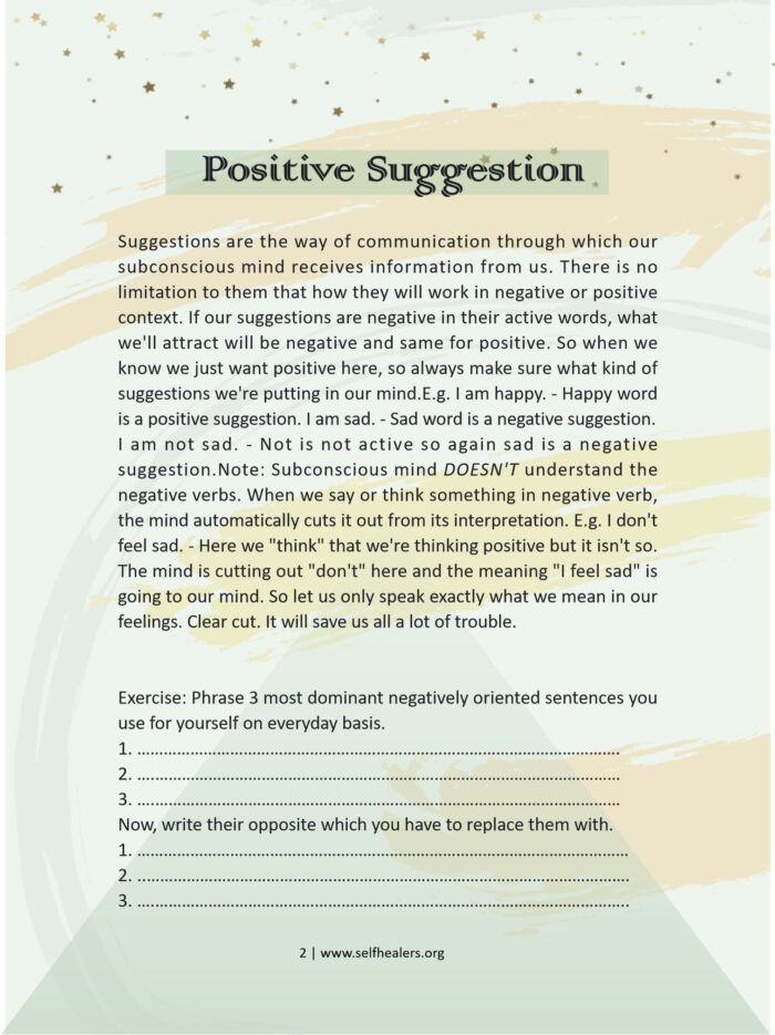 self healers | manifesting like a master | free law of attraction guidebook download